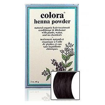 Colora Henna Powder Natural Organic Dye Hair Colour - Black