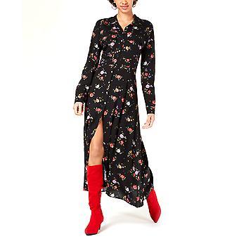 Project 28 NYC | Floral Printed Maxi Shirt Dress