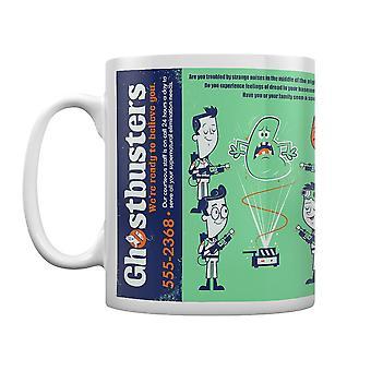 Ghostbusters, Mug - Call Now