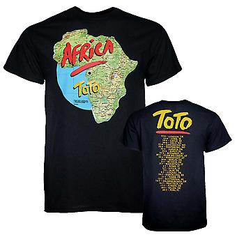 Toto T Shirt Toto Africa Tour T-Shirt