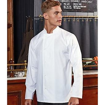 Premier Mens Essential Long-Sleeved Chef Jacket