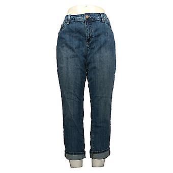 Laurie voelde vrouwen ' s Petite jeans klassieke denim vriendje blauw A351982