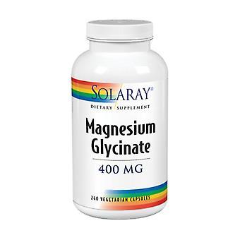 Solaray MagnesiumGlycinat, 400 mg, 240 Veg Caps