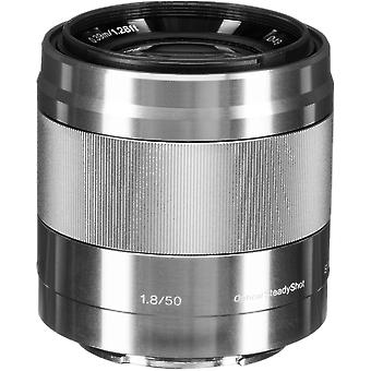 SONY SEL 50MM F1.8 OSS Argent
