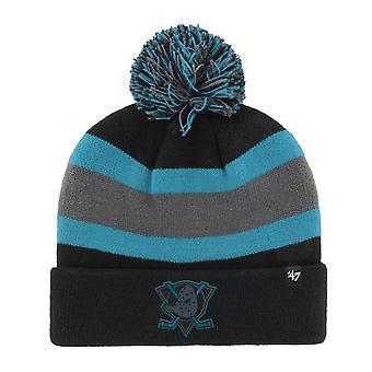 47 Brand Knit Winter Hat - BREAKAWAY Anaheim Ducks bk