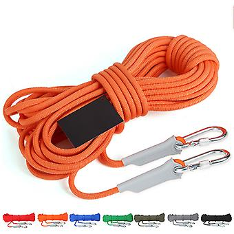 10/20M Professional Rock Climbing Cord Outdoor Randonnée Accessoires Corde 9.5mm Diamètre 2600lbs High Strength Cord Safety Rope