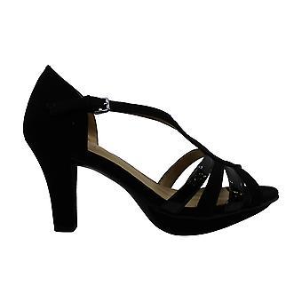 Naturalizer Women's Schoenen Delina Fabric Peep Toe Casual Strappy Sandals