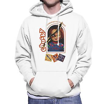 Chucky He Wants You As A Best Friend Men's Hooded Sweatshirt