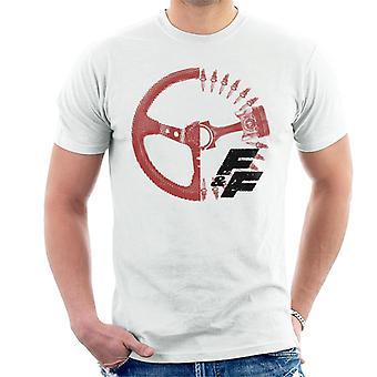 Nopea ja raivoisa ajopyörä X Ray Men's T-paita