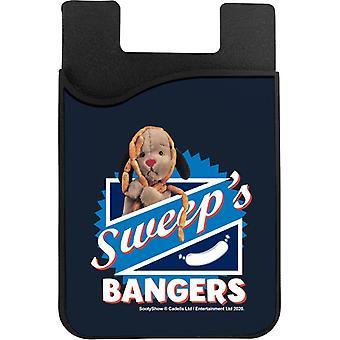 Sooty Sweeps Bangers Phone Card Holder