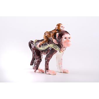 Two Monkeys - Trinket Box