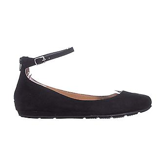 American Rag Womens Aeeva Suede Closed Toe Ankle Strap Loafers