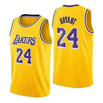 Los Angeles Lakers Kobe Bryant Schnell trocknende lose Basketball Uniform top QY035