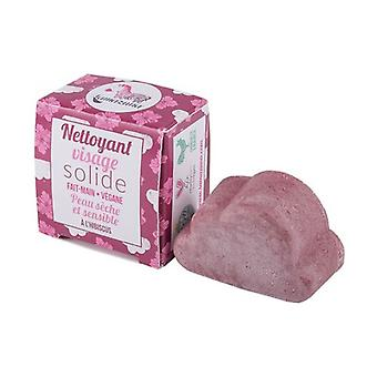Solid face cleanser with hibiscus dry and sensitive skin 25 g