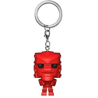 Mattel-Rockemsockemrobot (Röd) USA import