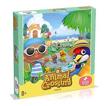 Animal Crossing Puzzle 500 Piece Jigsaw Puzzle