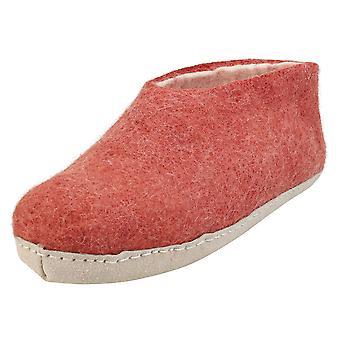 egos copenhagen Unisex Slippers Shoes in Dusty Rose