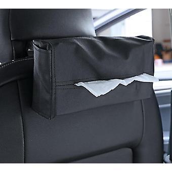 Kudos laatikko kansi kudos laatikko auton sisustus tarvikkeet nahka lautasliinat pidike