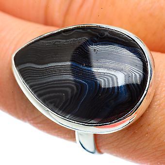 كبير سيلوميلان خاتم الحجم 9.5 (925 الاسترليني الفضة) - اليدوية الصنع بوهو خمر مجوهرات RING42916
