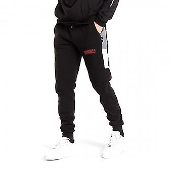 Hoodrich OG Panel V2 FLC Joggers Black/Grey/Red