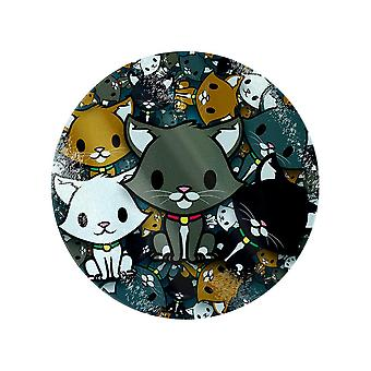 Grindstore Kooky Kittens Round Chopping Board