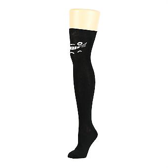 Flirt Patterned Over The Knee Socks Anime