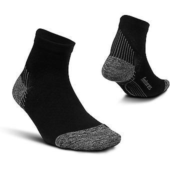 Feetures Unisex Plantar Fasciitis Relief Sock - Light Cushion - Quarter