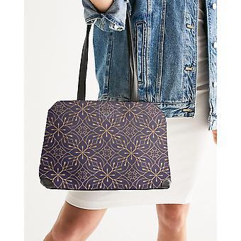Stamped Shoulder Bag