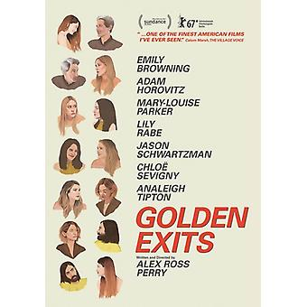 Golden Exits [DVD] USA import