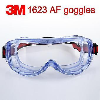 واقية كبيرة الرؤية الكيمياء سلامة مكافحة الضباب المضادة للرش Goggle