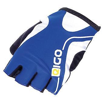Eigo Track Cycling Mitts Blue / White / Black