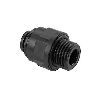 """1/4"""" X 6mm Push In Stud Fitting For Bambi Air Compressor"""
