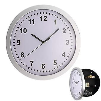 25 * 7Cm escondido relógio de parede secreto relógio de parede seguro criativo pendurado dinheiro relógio escondendo joias material de armazenamento caixa de decoração casa