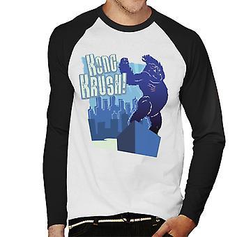 King Kong Krush Hombres's Baseball camiseta de manga larga