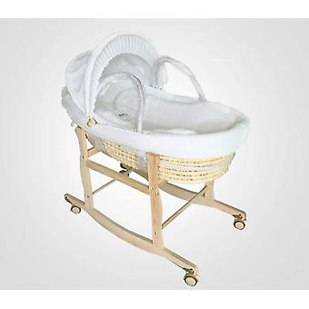 Newborn Portable Basket Crib -car Sleeping Baby Bed (0-16month)