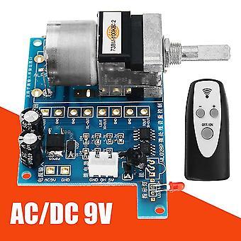 Dc 9v Infračervené dálkové ovládání Potenciometr Ovládání hlasitosti Deska