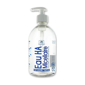 Organic micellar HA makeup-removing water 500 ml