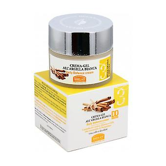 Facial line 3 Cream-gel with white clay 50 ml of cream