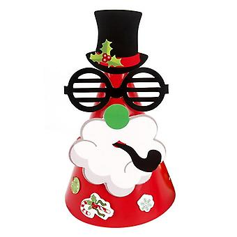 Kids Paper Decorative Diy Party Christmas Birthday Party Play Hats
