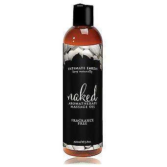 Intimate Earth Naked Massage Oil Fragrance Free