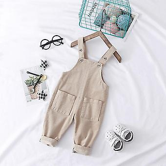 Baby Autumn Jeans Overalls, Infant Long Pant Jumpsuit