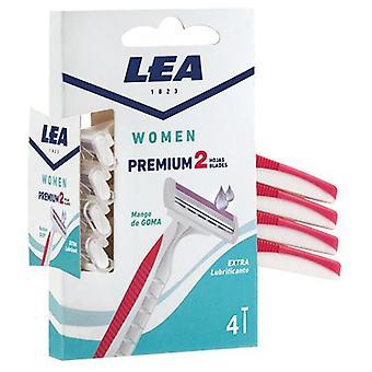 Lea Disposable razor 2 Filos 4 units