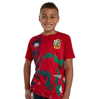 Canterbury Boys British & Irish Lions Graphic Rugby T Shirt