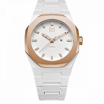 Watch D1 Milano PREMIUM Quartz - Golden Dial - 40.5 mm - PR07