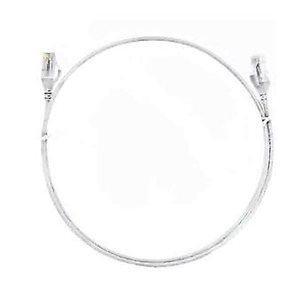 8Ware Cat6 White Ultra Thin Slim Cable 15M