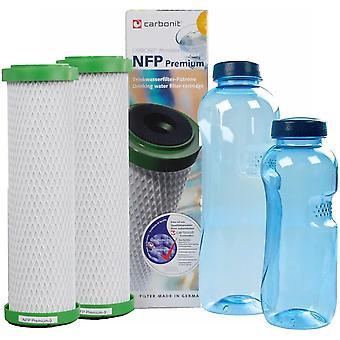 HanFei NFP-Premium  Paket 2 - GRATIS: 2 TRITAN-Flaschen - frei von Bisphenol-A
