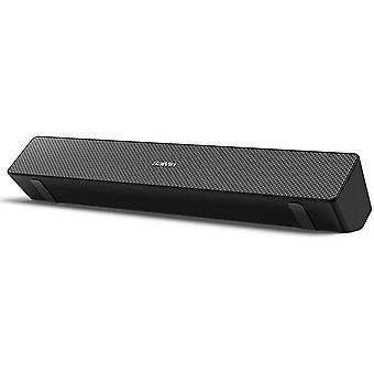 FengChun Computerlautsprecher, PC-Lautsprecher Soundbar, 20 W Leistungsstarke