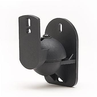 FengChun 4 Pack Schwarze Universal-Wanden für Lautsprecherhalterung