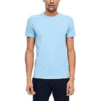 s.Oliver BLACK LABEL 160.10.003.12.130.2009629 T-Shirt, Blue, XXL Men