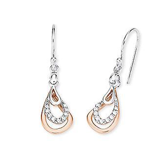 Amor, silver pendant earrings 925